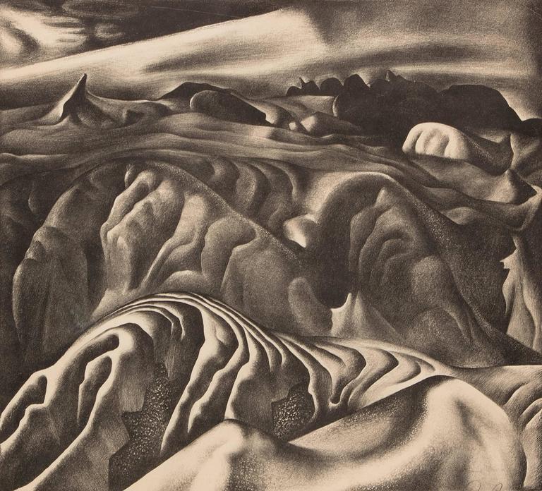 Mako Sica (Tchaikovsky's Sixth, The Badlands) - Print by Ross Eugene Braught