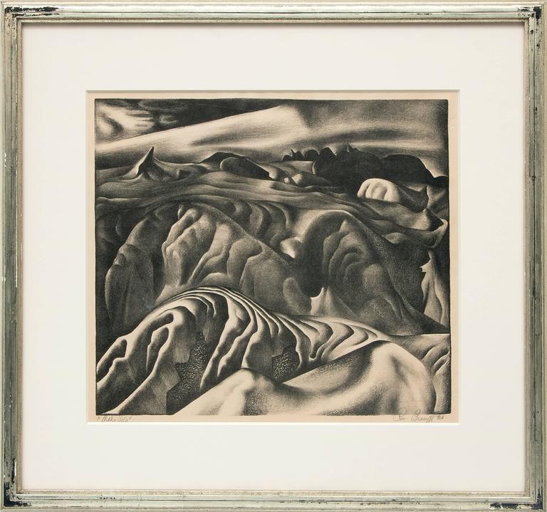 Ross Eugene Braught Figurative Print - Mako Sica (Tchaikovsky's Sixth, The Badlands)
