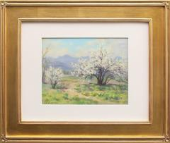Elsie Haddon Haynes - Plum Blossom, Shadow Valley Gardens (Colorado)