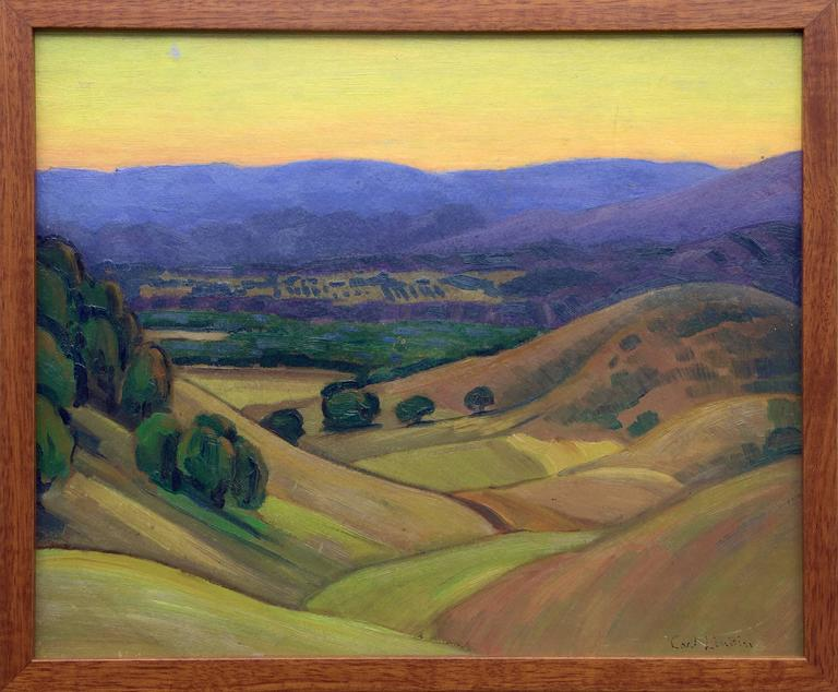 Carl Lindin - Untitled (Valley near Ojai, California) 1
