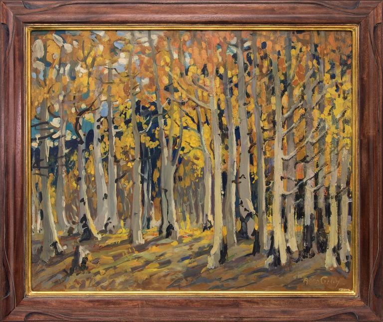Adma Green Kerr Landscape Painting - Untitled