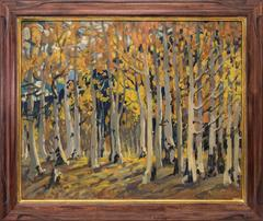 Untitled (Aspen Grove in Autumn)