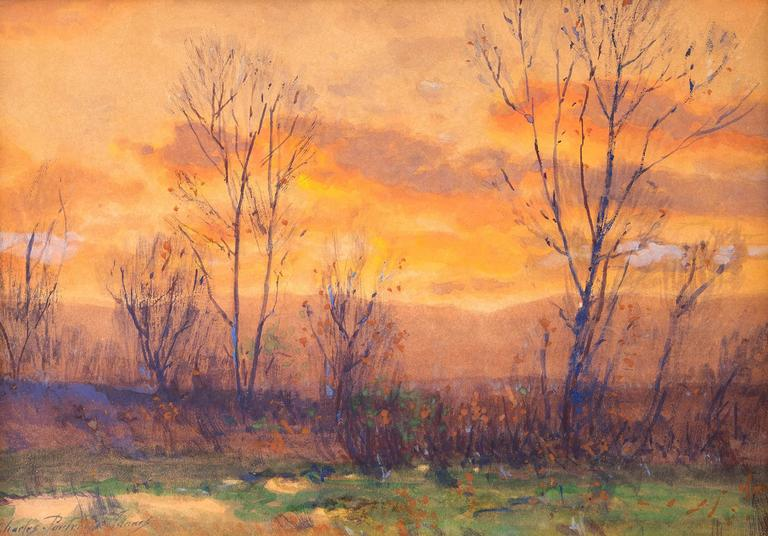 Charles Partridge Adams - Untitled (Sunset, Along the Front Range, Colorado) 1