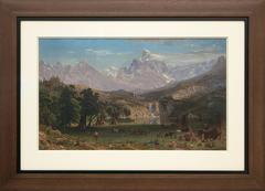 The Rocky Mountains, Lander's Peak (Wyoming)