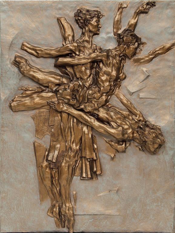 Eric Bransby Figurative Sculpture - Arabesque