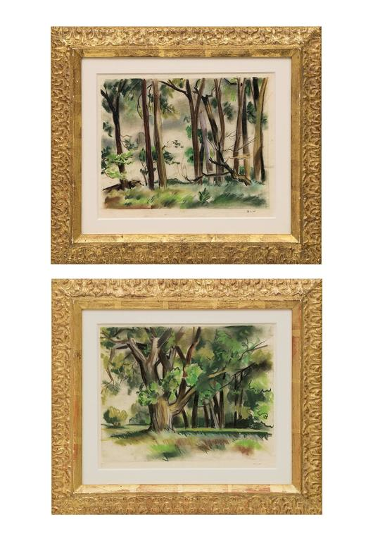 Zona Wheeler - Pair of Landscape Paintings 1