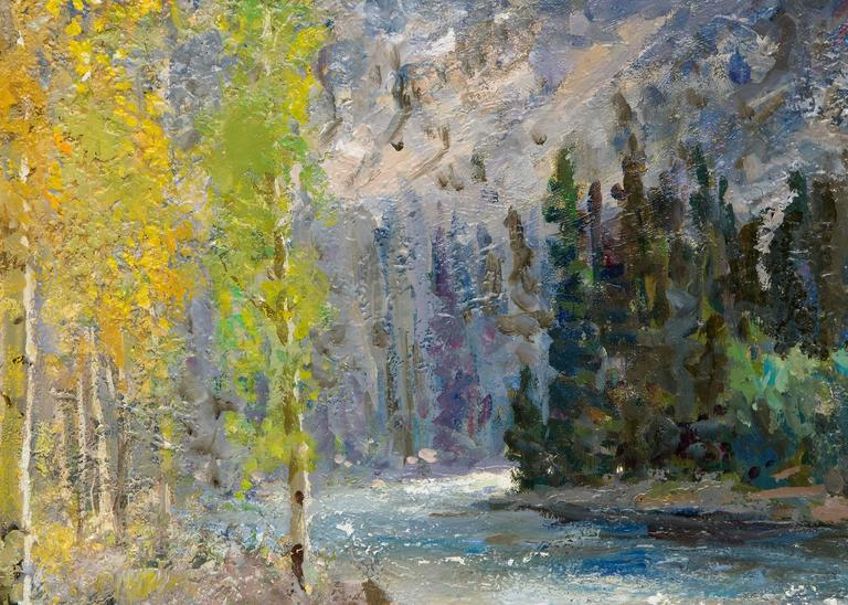 Time of Autumn (Chama River, New Mexico) For Sale 1