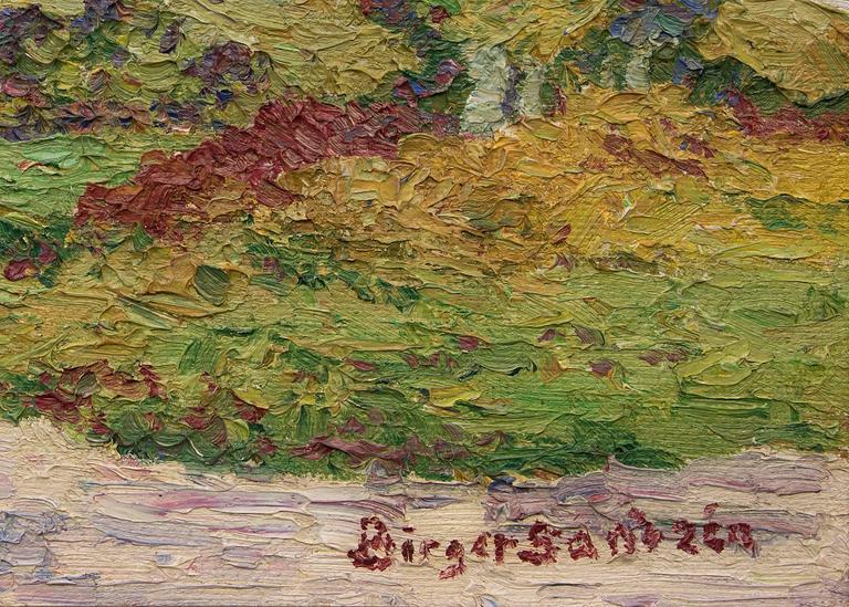 Coronado Heights (Kansas) - American Impressionist Painting by Birger Sandzen