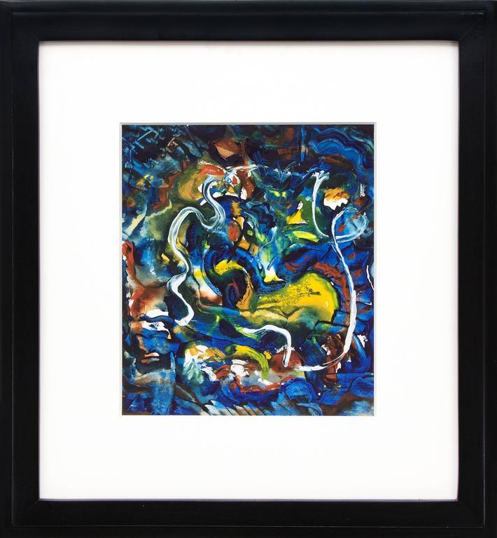Untitled (Fantasy in Blue)