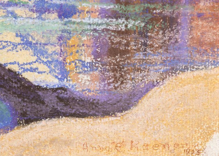 Arizona - Beige Landscape Art by Anna Keener