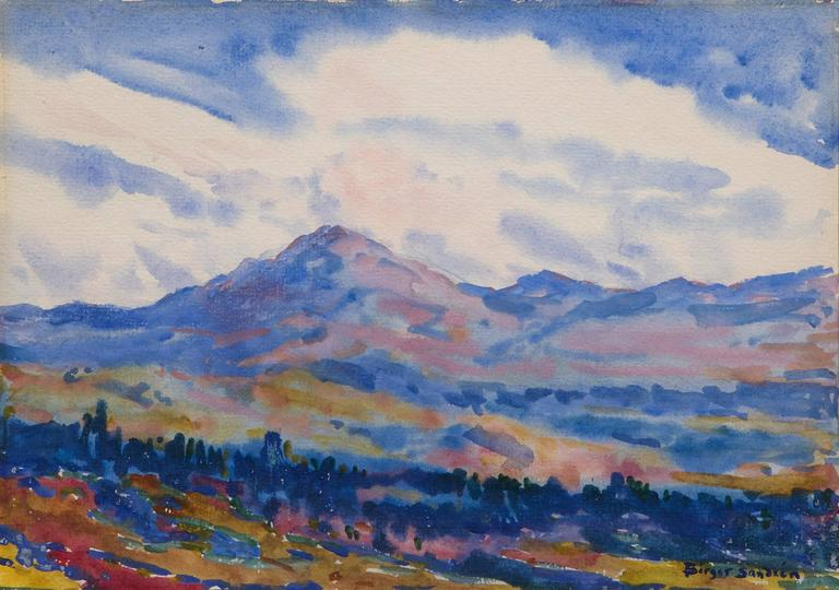 Birger Sandzen - Untitled (Colorado Landscape) 1