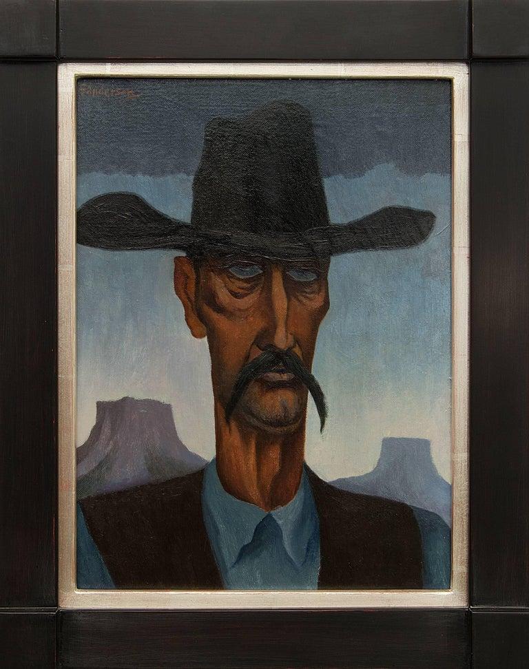 William Sanderson Portrait Painting - Hombre