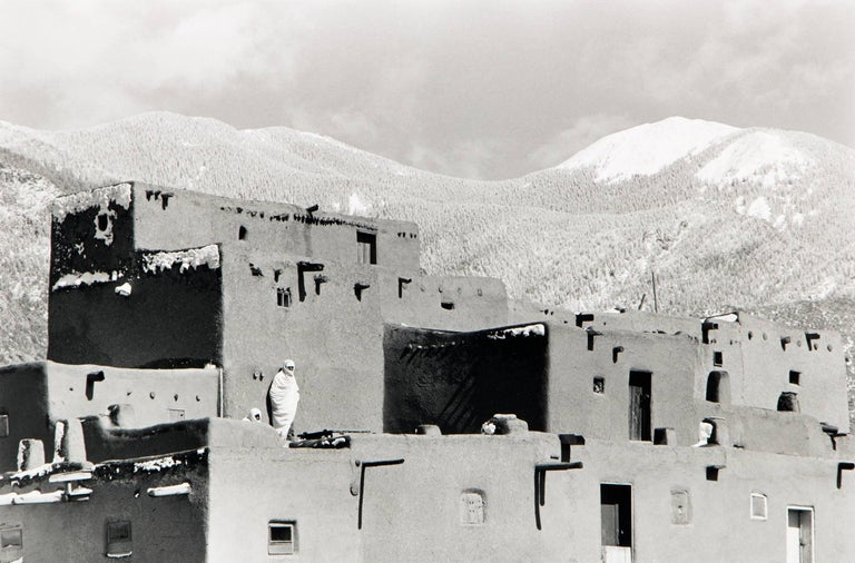 Myron Wood Landscape Photograph - Untitled (Taos Pueblo, New Mexico)