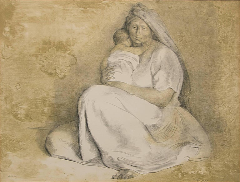 Madre con Niño (Mother and Child) 2