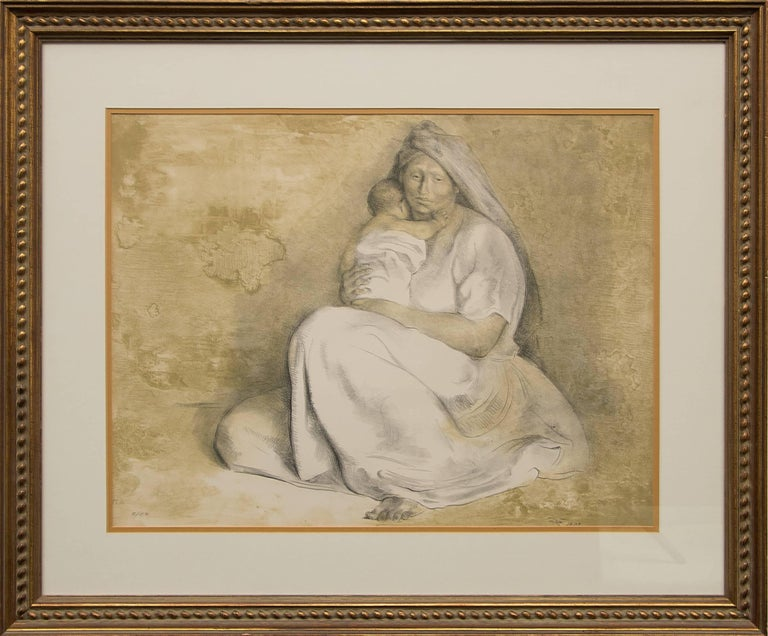 Francisco Zuniga - Madre con Niño (Mother and Child) 1