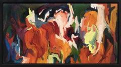 Abstract: Green, Orange, Red, Yellow, Pink, Magenta, Purple, Blue, White, Black