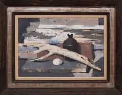 Still Life with Old Wood and Egg