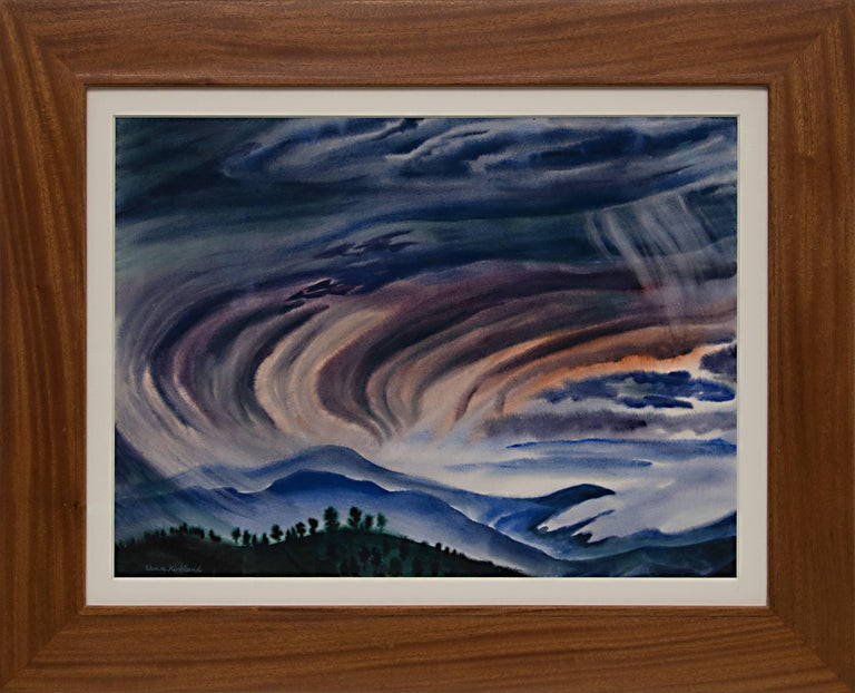 Vance Kirkland Landscape Painting - View From Falcon's Wing