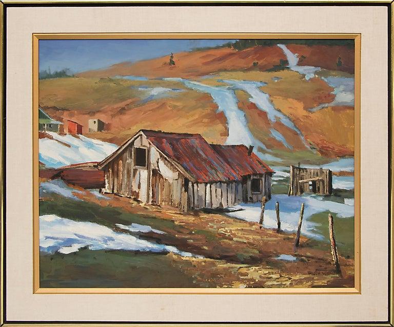 Untitled (Barn in Winter) 4