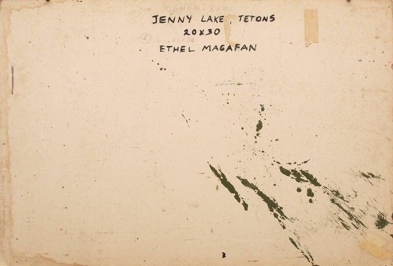 Jenny Lake, Tetons (Wyoming) For Sale 2