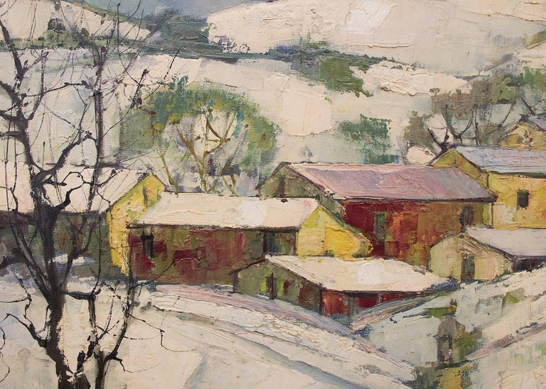 Untitled (Winter Village) For Sale 1