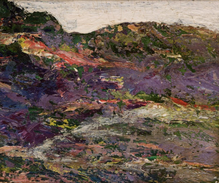 Untitled (Landscape) - Painting by Ernest Lawson