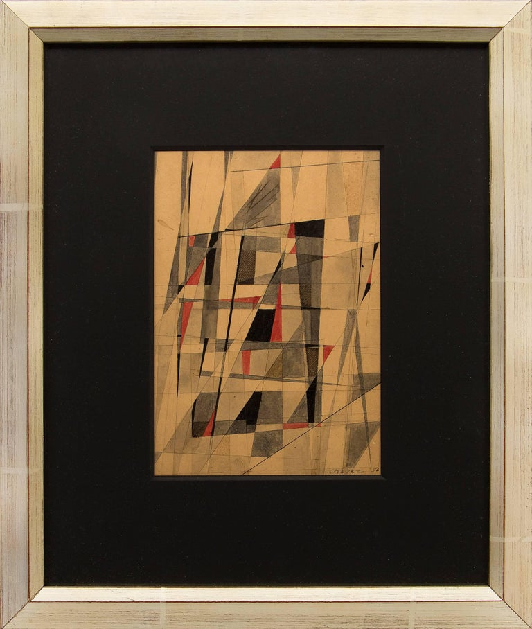 Edward Arcenio Chavez Abstract Painting - Untitled (Abstract)