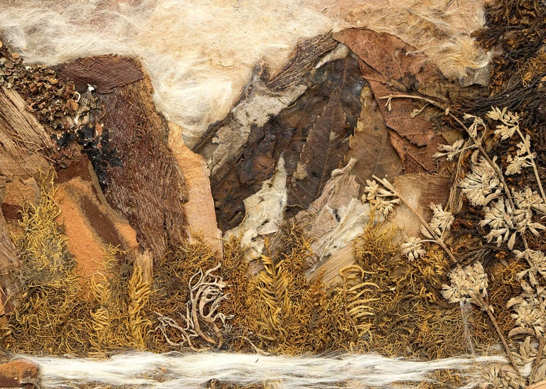 Good Fishin' (Colorado) - Brown Landscape Painting by Pansy Stockton