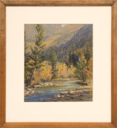 Untitled (Creek in Autumn, Colorado)