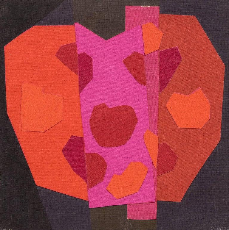 Valentine - Mixed Media Art by Margo Hoff