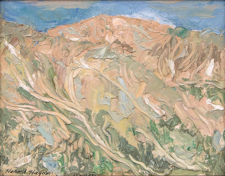Independence Pass, Colorado - Painting by Harold Haydon