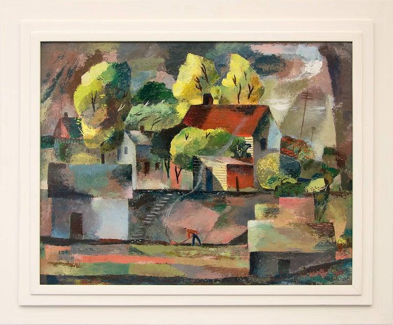 Cubist Farm House