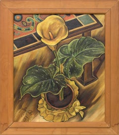 Yellow Calla (Still Life)
