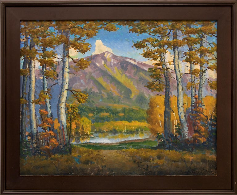 Mt. Sopris (Colorado) - Painting by Harold Skene
