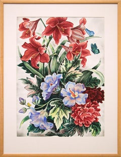 Untitled (Still Life with Flowers and Butterflies)