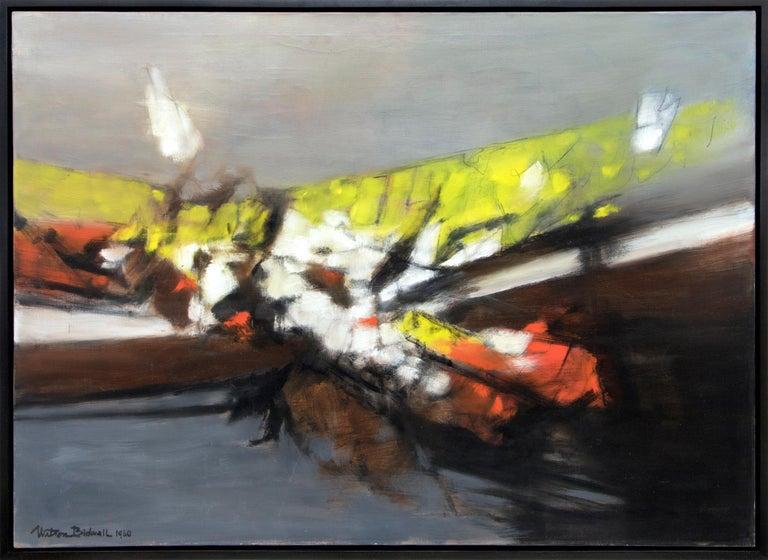 Watson Bidwell Abstract Painting - Along the Way