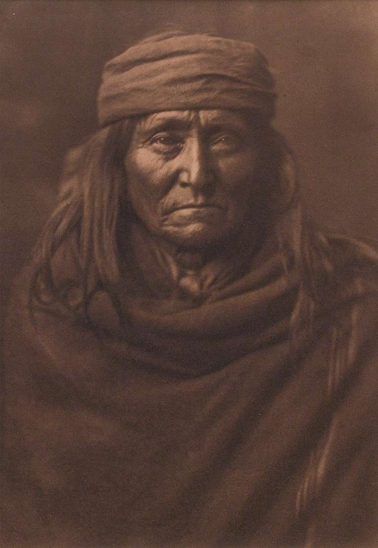 Eskadi Apache - Photograph by Edward Sheriff Curtis