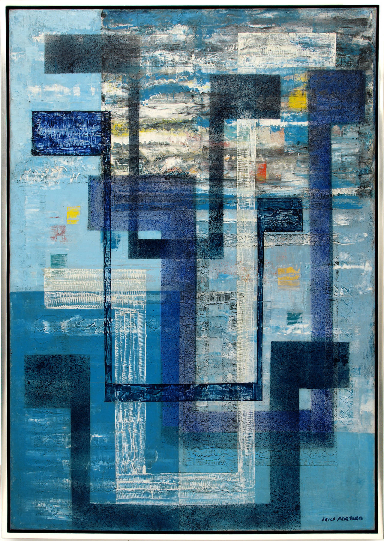 Irene Rice Pereira Abstract Painting - The Spirit of Air