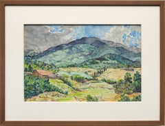 Untitled (Mountain Ranch, Spring Summer Colorado Landscape)