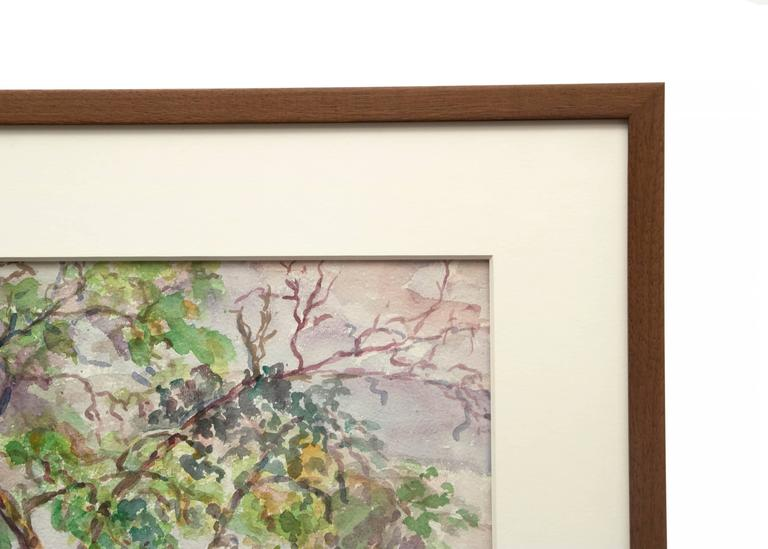 Untitled Landscape Painting of Trees Near a Colorado Ranch For Sale 3