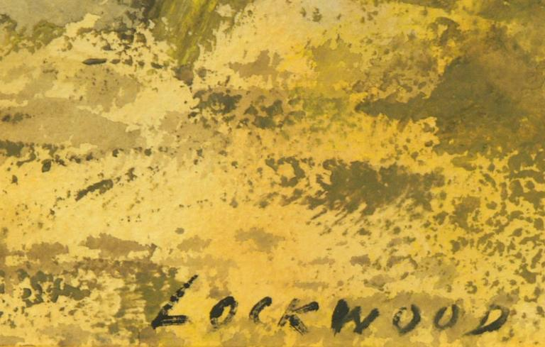 Untitled (Abstract) - Abstract Expressionist Art by John Ward Lockwood