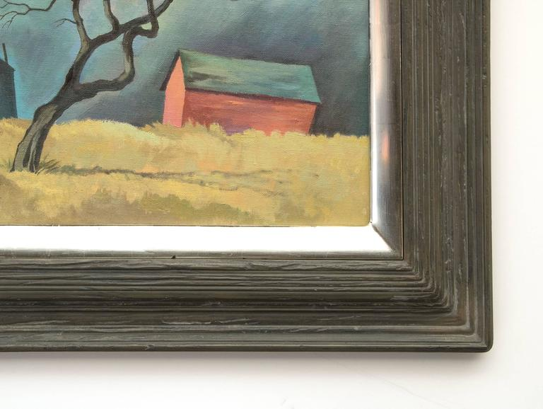 Red Barn and Tree (Colorado) For Sale 1