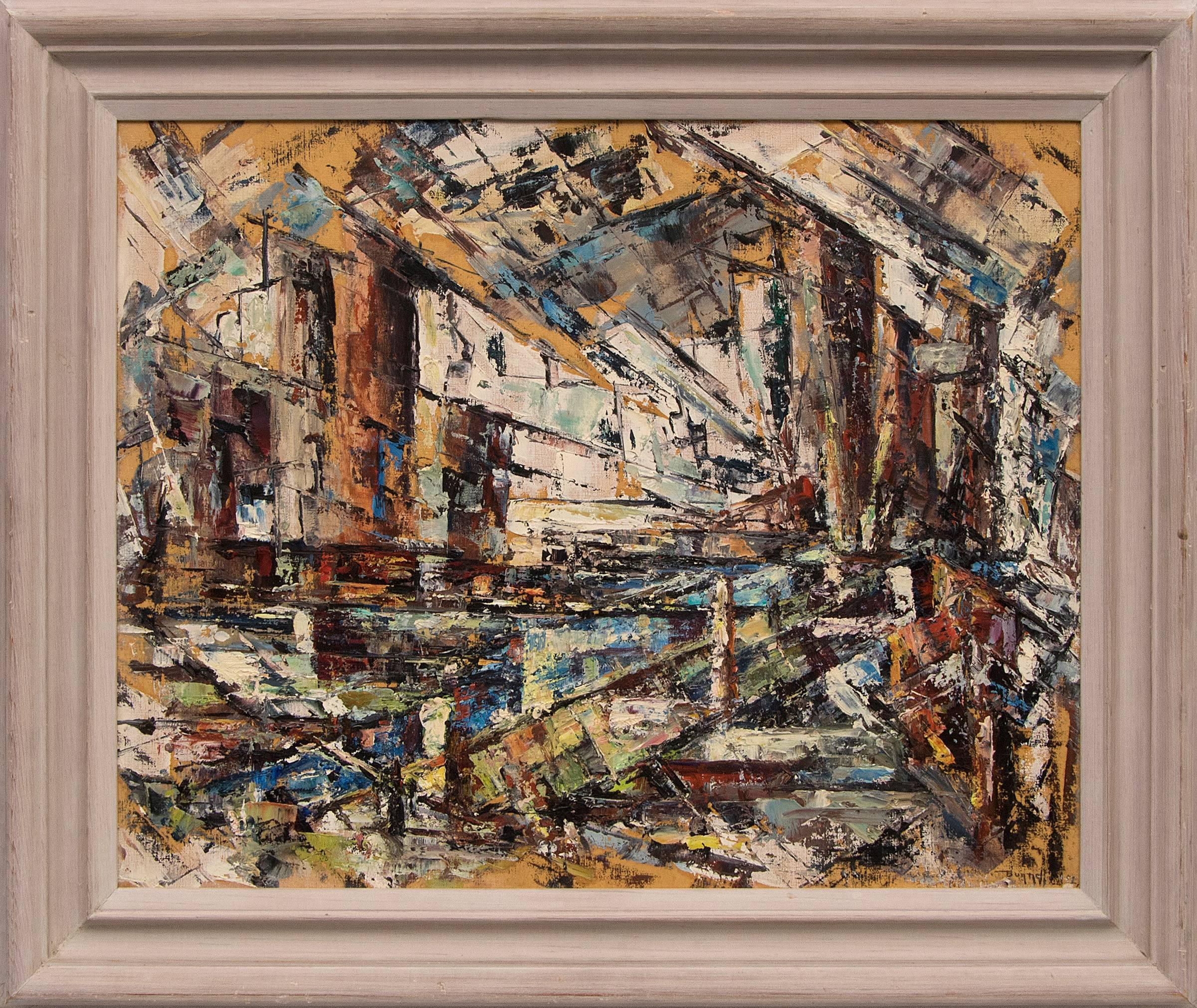 Untitled (Colorado Mining District - Abstract Expressionist Painting)