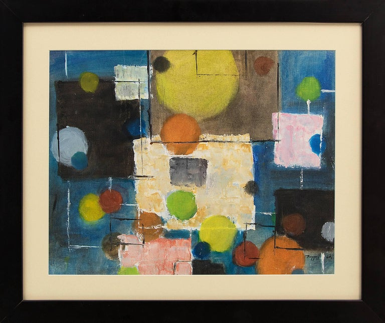 Charles Ragland Bunnell Abstract Painting - Untitled (Abstract)