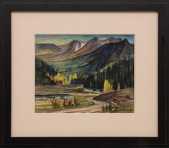 Catamount Country (Colorado Mountain Landscape in Autumn)