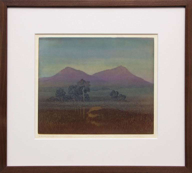 George Elbert Burr - Spanish Peaks, Colorado 1