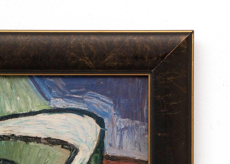 Untitled (Still Life) - Brown Still-Life Painting by Michel Patrix