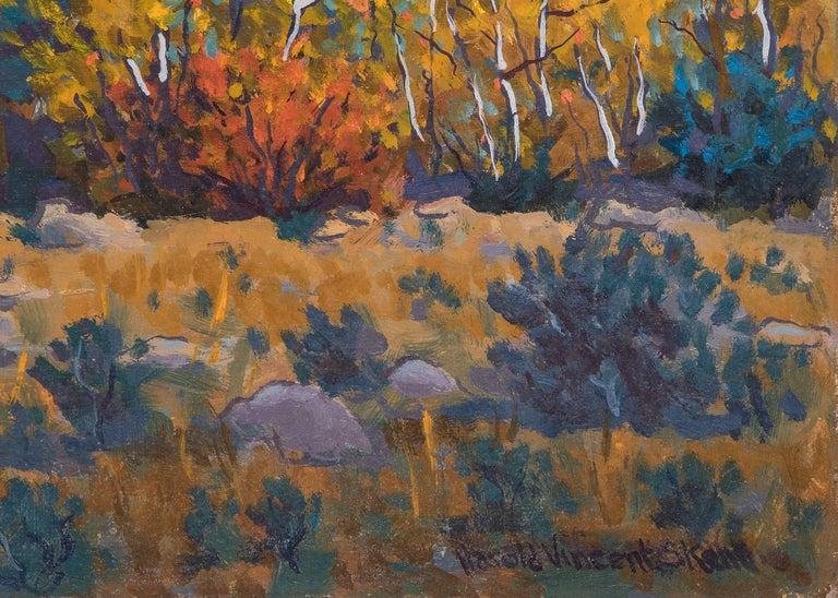 The Return  - American Impressionist Painting by Harold V. Skene