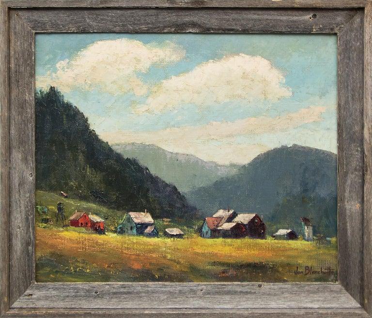 Jon Blanchette Landscape Painting - West Mendocino (Southern California)
