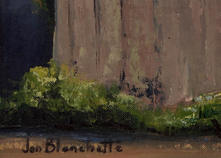 East Santa Cruz (Southern California) - American Impressionist Painting by Jon Blanchette